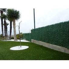 seto artificial verde 3x1 m