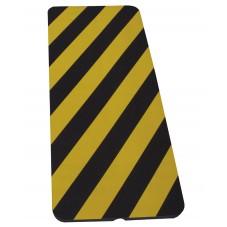 Protector de espuma amarillo/negro