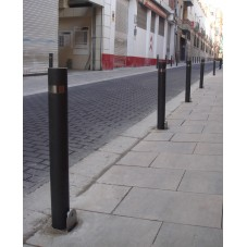 pilonas extraíbles instaladas